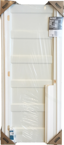 Shrinkwrapped Door System