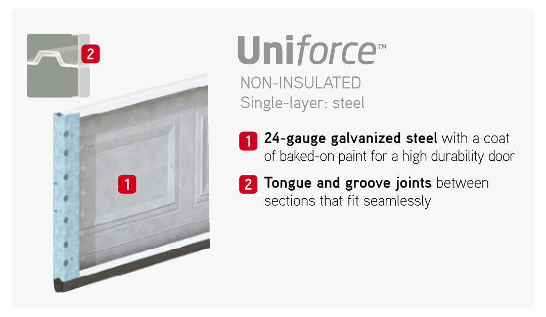 Force series garaga garage doors doorsmith proud supplier for Scenix porch windows