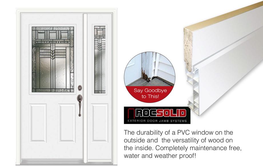 Prefinished maintenance free exterior steel doors doorsmith for Scenix porch windows