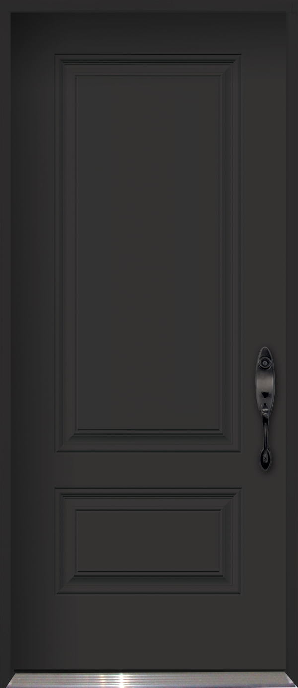 Polytech Prefinished Black Steel Doors Doorsmith And