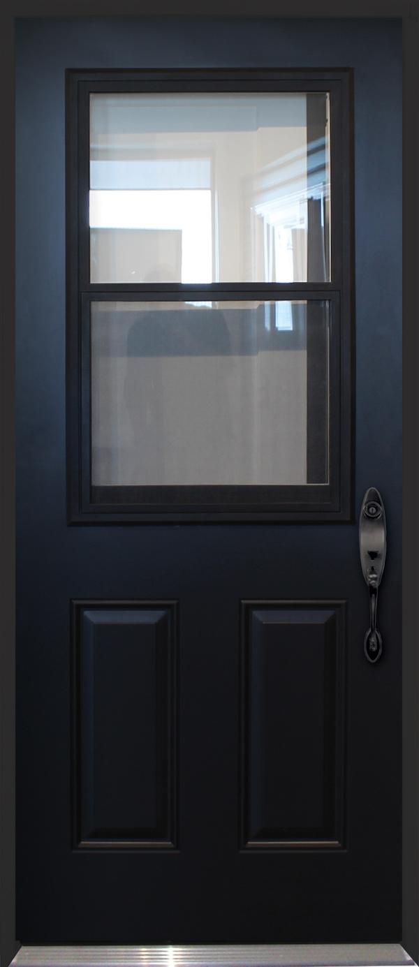 Polytech Prefinished Black Steel Doors Doorsmith And